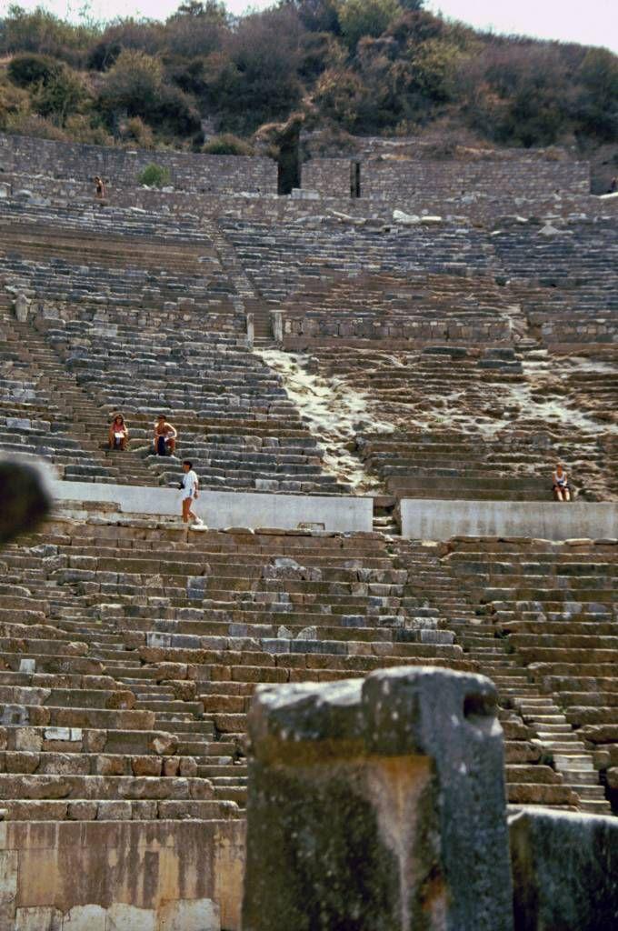 Ephesus, Römische Ausgrabungen, Theater