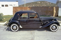 Citroën Traction Avant von 1949 im Hotel Club Diana