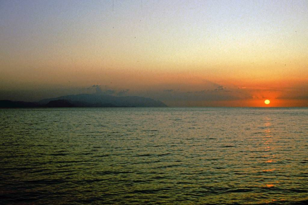 Kuşadası, Sonnenuntergang