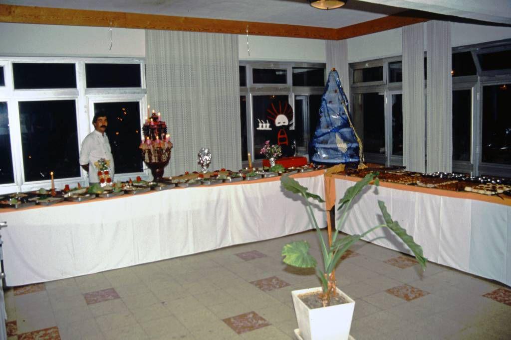 Kuşadasi, Hotel Club Diana, Buffet