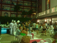 Antalya, Blue Star Hotel, Abendbuffet am Pool