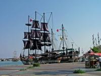 Antalya, Touristenschiff