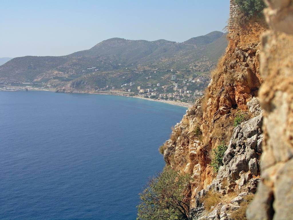 Antalya, Aussicht Richtung Cleopatra Beach