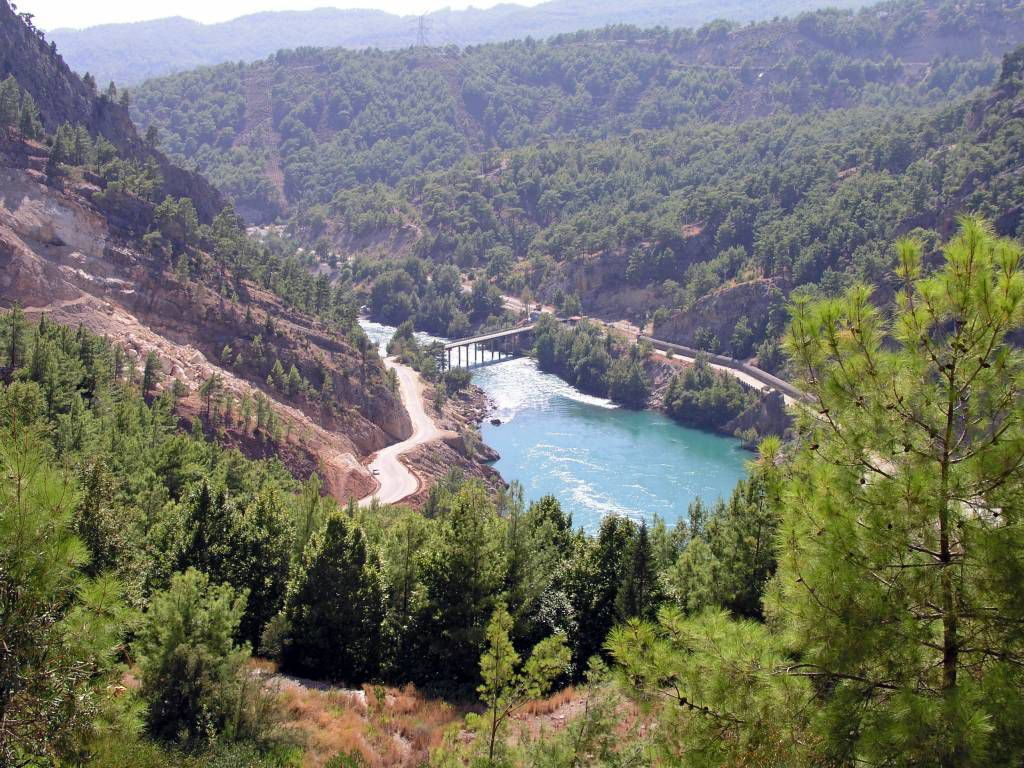 Grüner Canyon, Aussicht