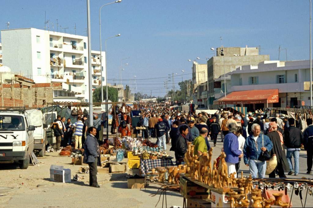 Sousse, Sontagsmarkt