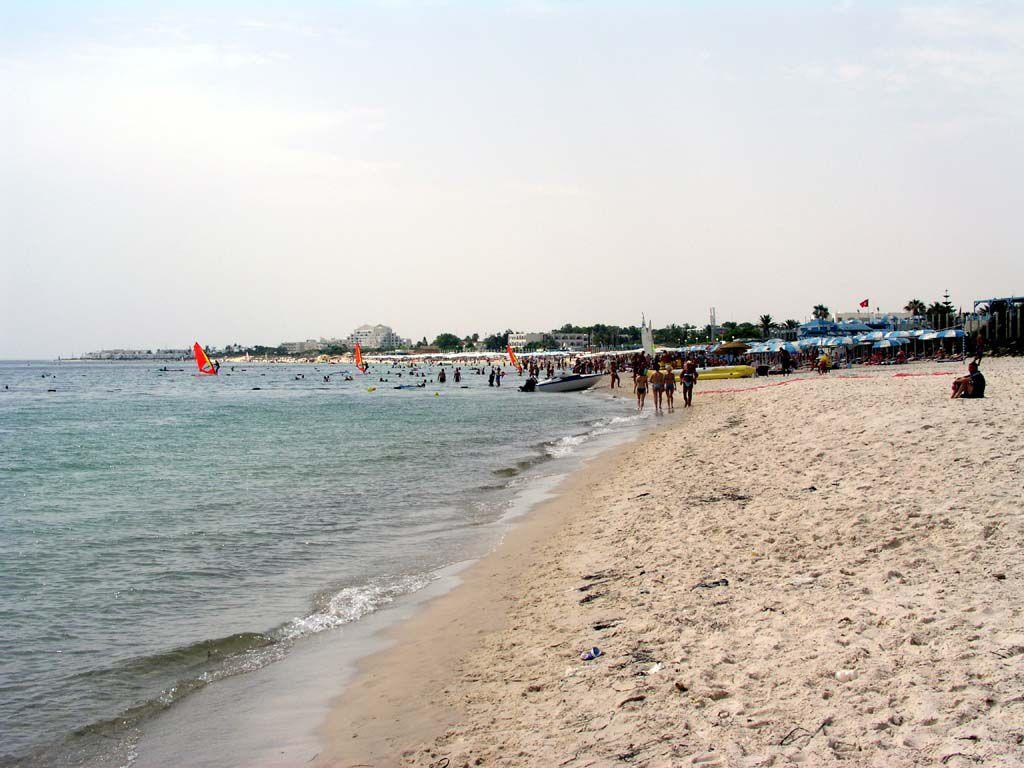 Am Strand von Port el Kantaoui