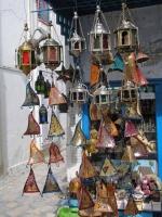 Hammamet, Lampenbasar in der Medina