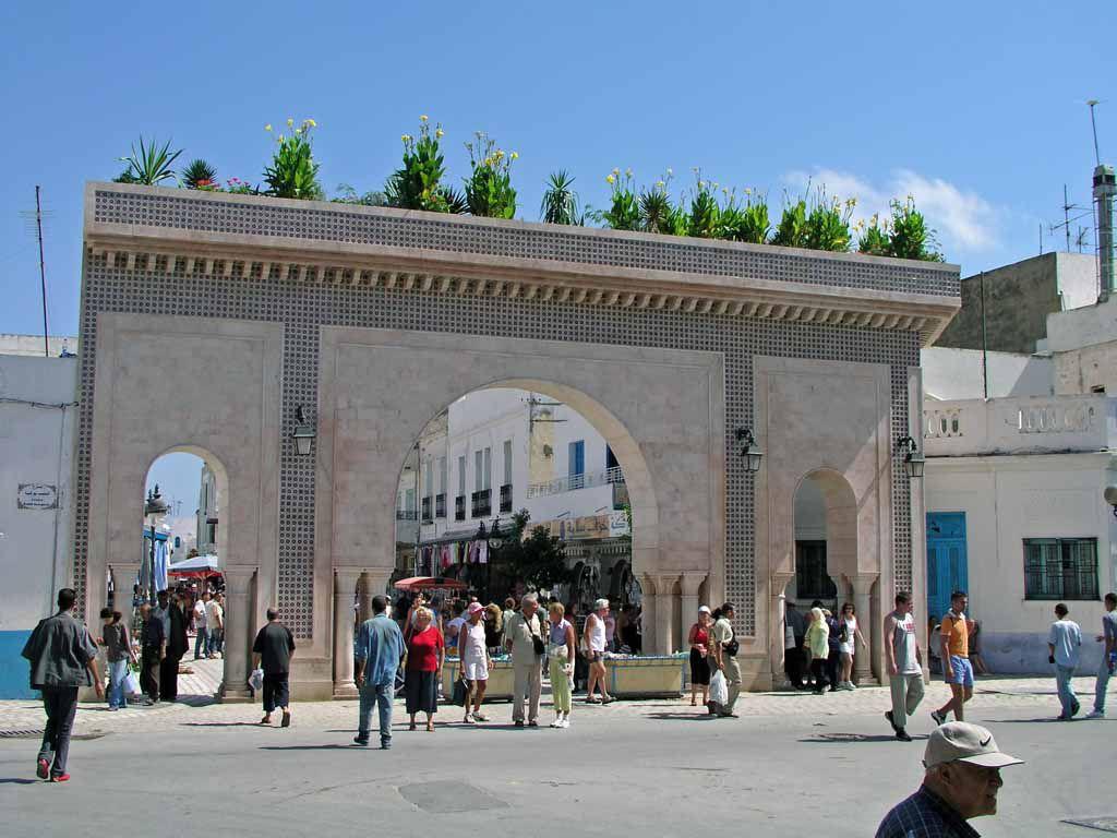 Nabeul, Tor zur Medina