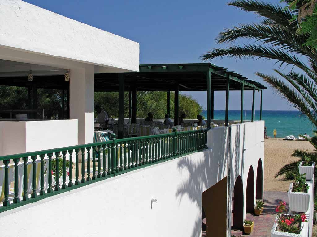 Hammamet, Hotel Primasol el Fell, Strandrestaurant
