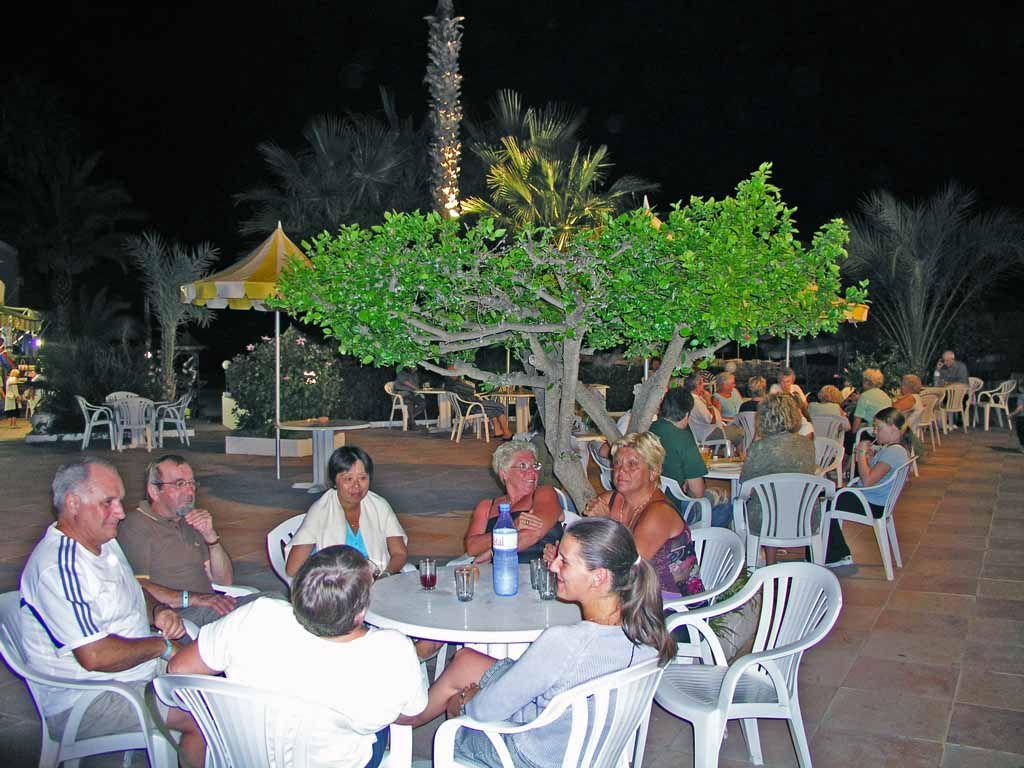 Hammamet, Hotel Primasol el Fell, Terrasse