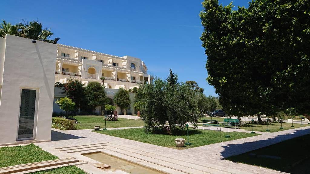 Port el Kantaoui, Seabel Alhambra Beach Golf & Spa Hotel, Hotelanlage