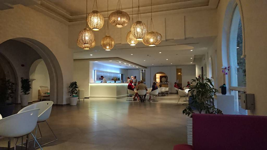 Port el Kantaoui, Seabel Alhambra Beach Golf & Spa Hotel, Rezeption