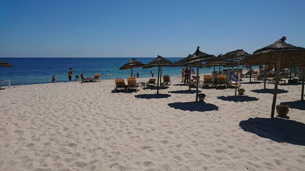 Port el Kantaoui, Seabel Alhambra Beach Golf & Spa Hotel, Strand