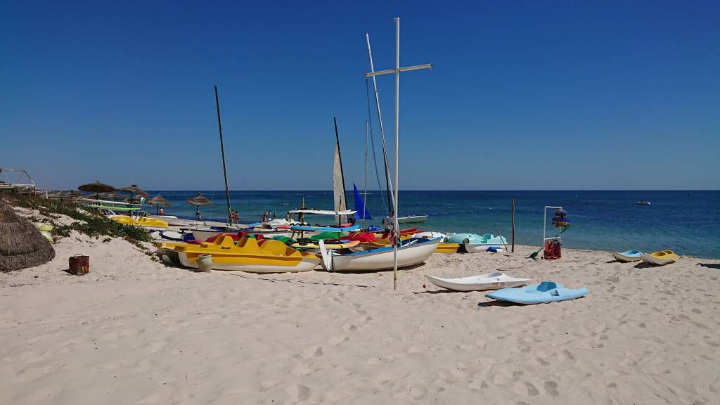 Port el Kantaoui, Seabel Alhambra Beach Golf & Spa Hotel, Strand