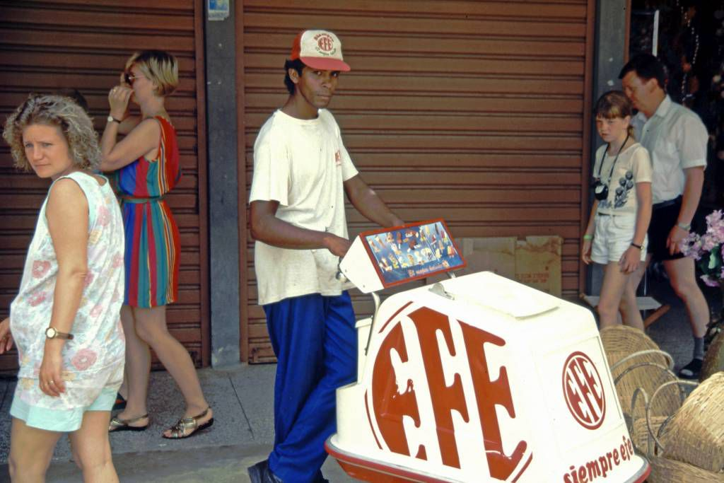 Cumaná, Eisverkäufer