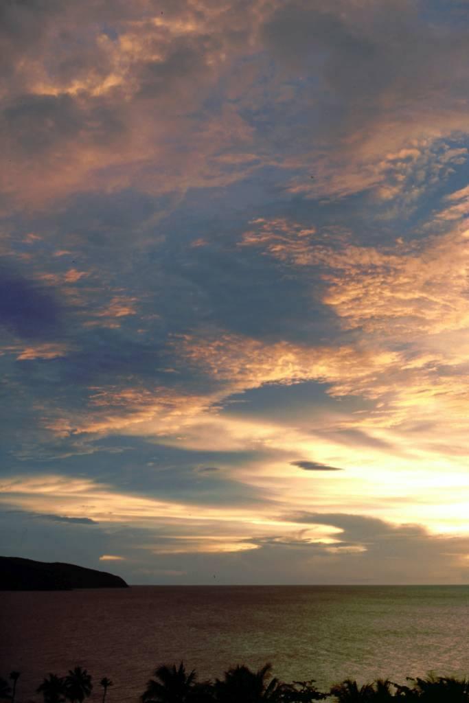Cumaná, Hotel Los Bordones, Sonnenuntergang