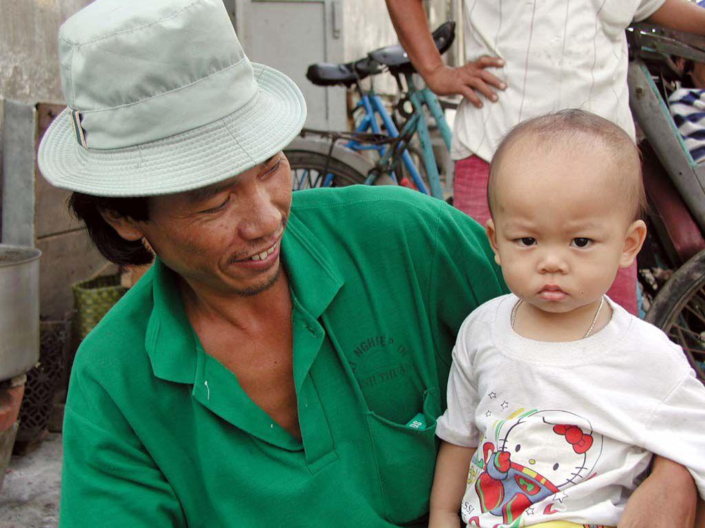 Menschen in Phan Thiet