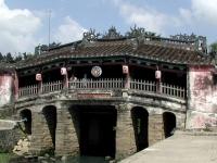 Die japanische Brücke in Hoi An