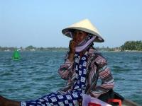 Mein Geburtstagsgeschenk, eine Flussfahrt auf dem Song Thu Bon bei Hoi An