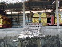 Särge im Mekong Delta
