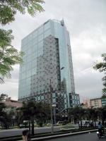 Das Gebäude der City Bank in Saigon / Saigon / HCMC