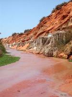 Flusstal in der Nähe von Mui Ne