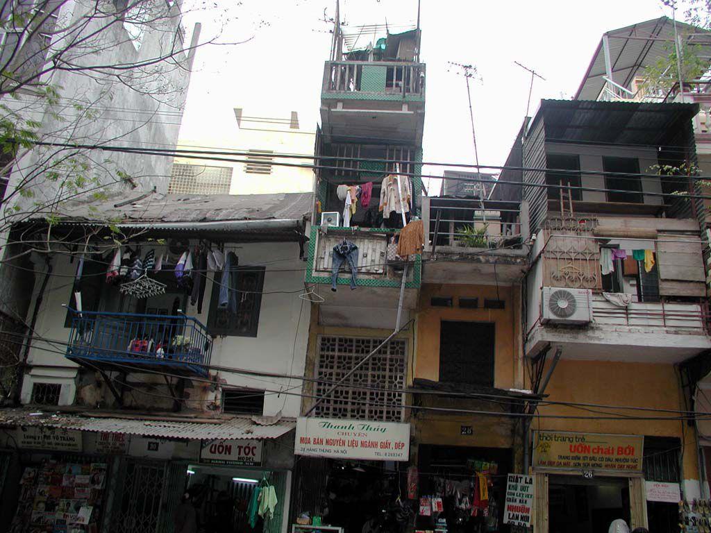 Gebäude in Hanoi / Ha Noi