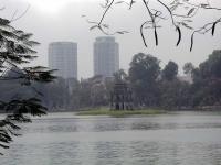 Der Ho Hoan Kiem, der See des zurückgegebenen Schwertes in Hanoi / Ha Noi