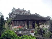 Die Bücherei der Kaiser im Palast von Hue