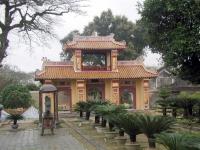 Tor im Kaiserpalast von Hue