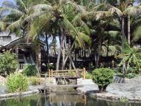 Im Garten des Saigon Mui Ne Resort