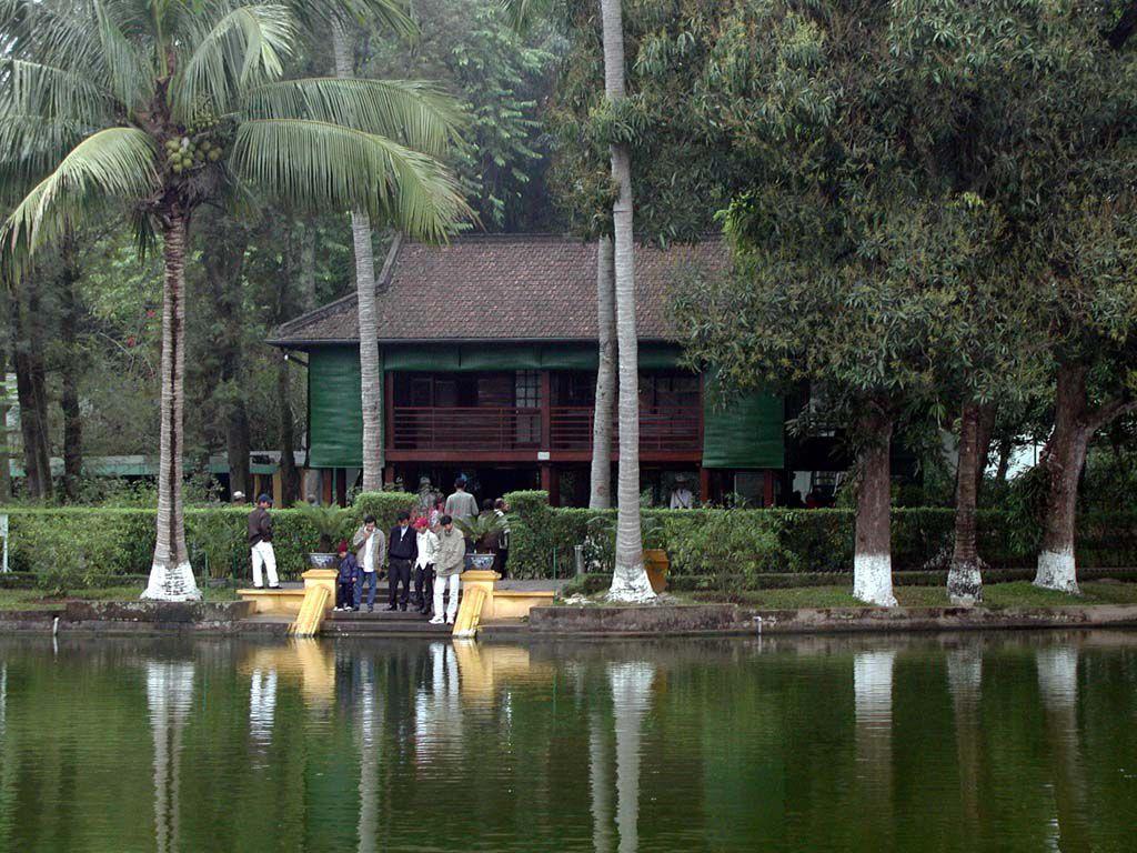 Wohnhaus von Ho Chi Minh in Hanoi / Ha Noi