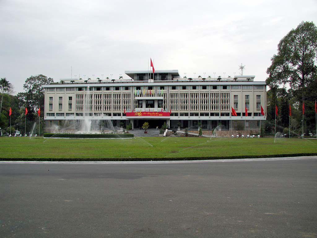 Palast der Einheit in Saigon / Sai Gon / HCMC