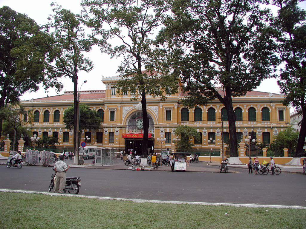 Hauptpost von Saigon / Sai Gon / HCMC