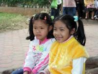 Hanoi, Kinder im Ho Chi Minh Gedächtnis Areal