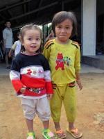 Nationalstraße 1 nördlich Qui Nho'n, Kinder