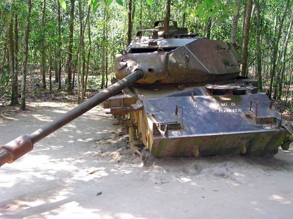 Cu Chi, alter US-Panzer