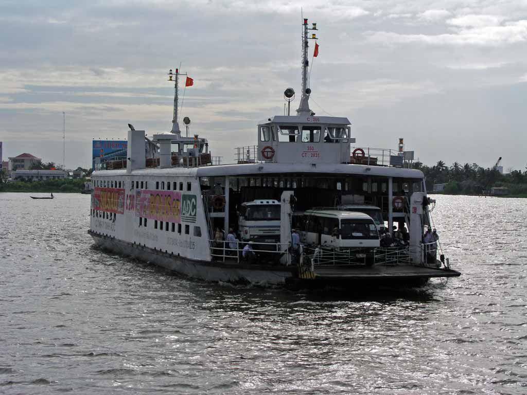 Mekongfähre nach Can Tho