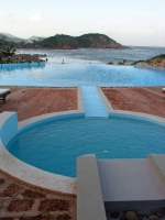 Qui Nho'n, Blick vom Life Resort in Richtung Meer