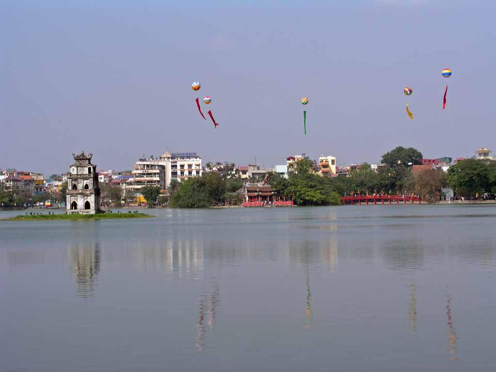 Hanoi, Hoan Kiem, See des zurückgegebenen Schwertes