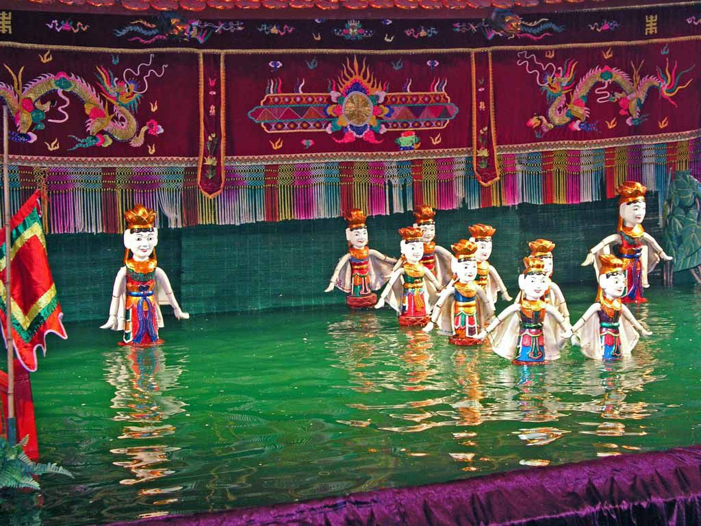 Hanoi, Wasserpuppentheater