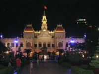 Sai Gon (HCMC), Rathaus bei Nacht