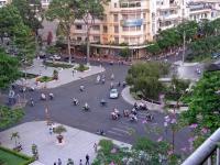 Saigon, Platz vor dem Rex Hotel bei Tag