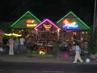 Mui Ne, Restaurant bei Nacht