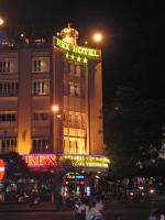 Saigon (Ho Chi Minh Stadt), Rex Hotel bei Nacht