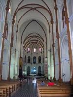 Saigon, in der Kathedrale, der Nha Tho Duc, der Kirche Unserer Lieben Frau