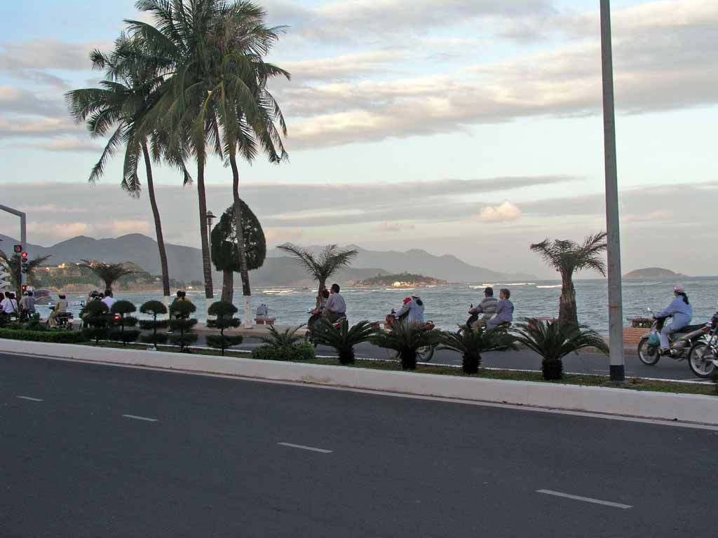 Nha Trang, Strandpromenade
