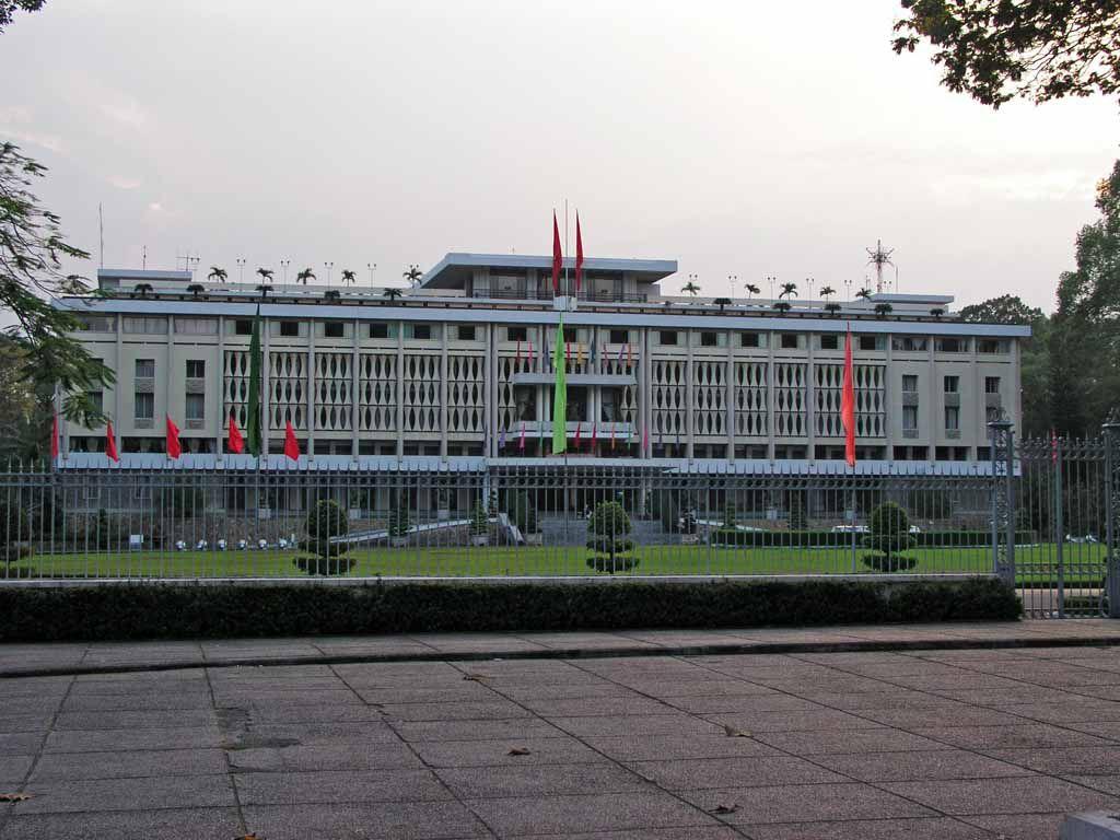 Saigon, Halle der Wiedervereinigung, ehemaliger Präsidentenpalast