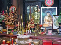 Sai Gon (HCMC), in der Ngoc Hoa Pagode