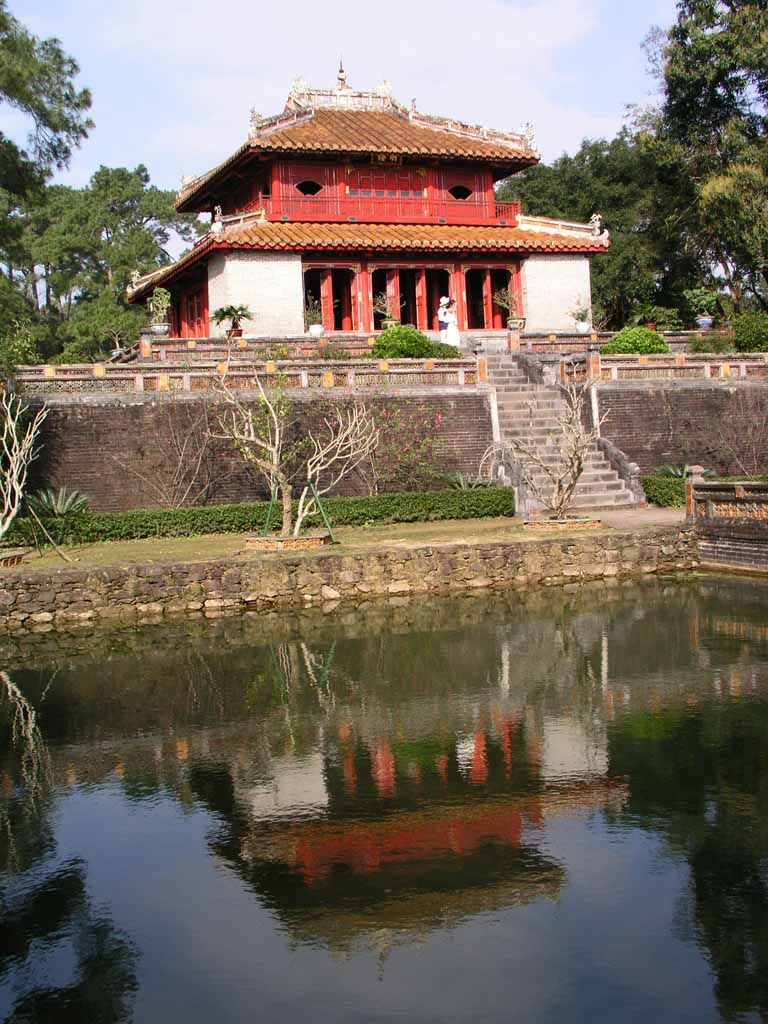 Hue, in der Grabanlage von Minh Mang